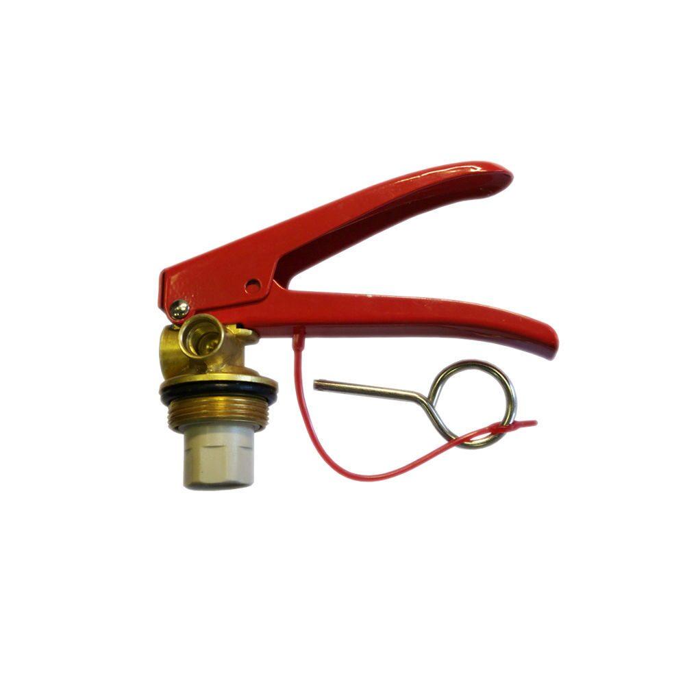 Запорно-пусковое устройство ЗПУ к огнетушителям ОП-4,5,6,8,10.